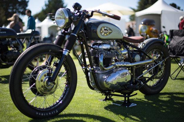 Custom BSA A65 by Richard Mitchell.