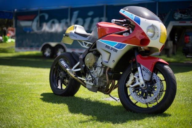Bol d'Or custom MV Agusta by Walt Siegl.