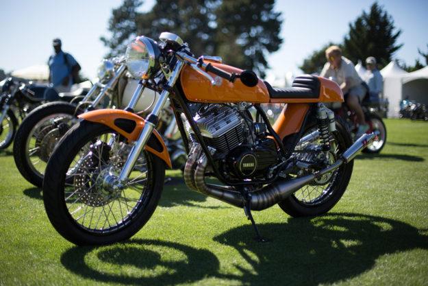 Custom Yamaha RD350 by Kevin Dotson.