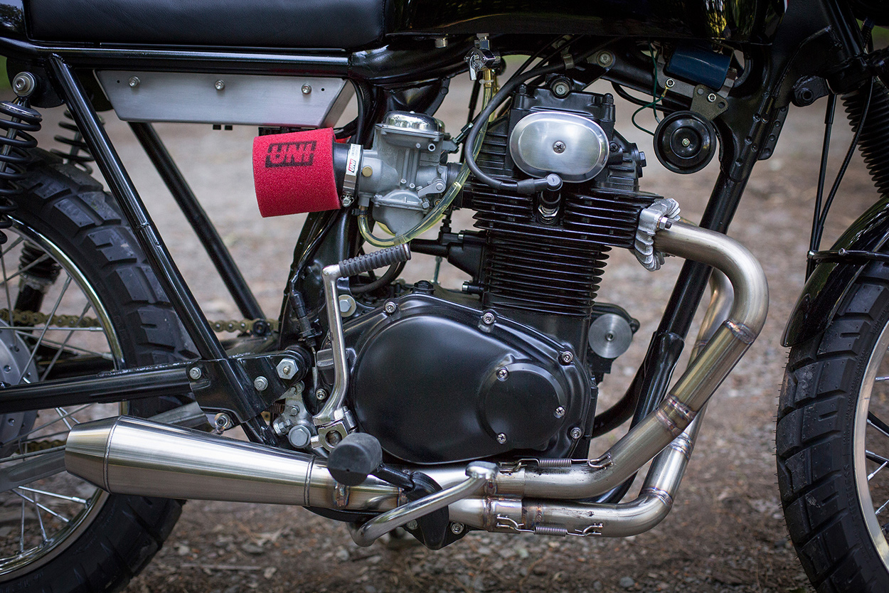 Town And Country A Honda Cb350 Built In The Catskills Bike Exif Wiring Harness Full Size