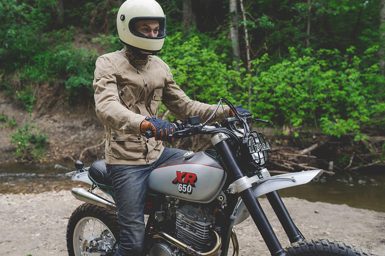 pukka scrambler: custom Honda XR650L by Federal Moto. - Bike EXIF