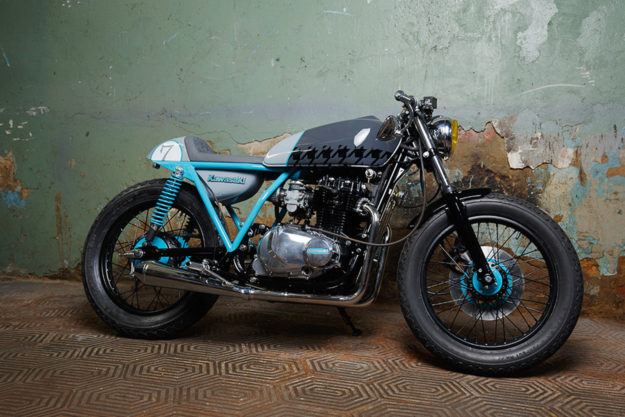 Kawasaki KZ400 by Sparta Garage