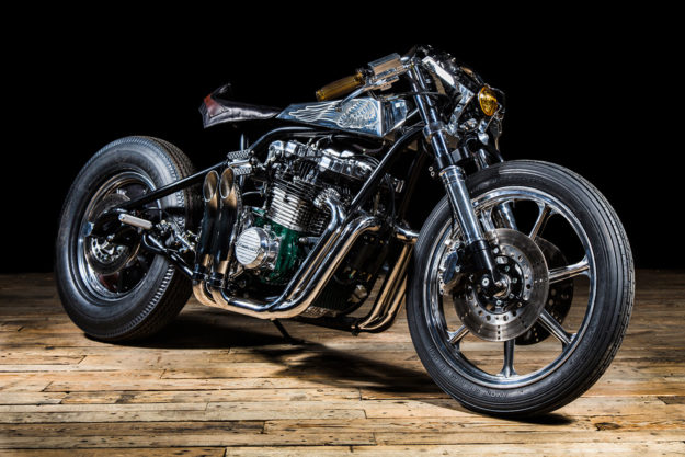 Enigmatic French builder Ed Turner reworks the Kawasaki Z1000ST, with outrageous results.