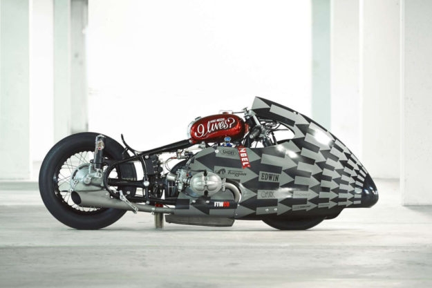 Sultans Of Sprint drag racer by Lucky Cat Garage.