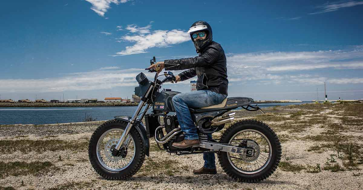 This Rickman Metisse is a Husaberg in disguise