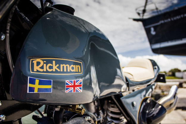 This Rickman Metisse is a Husaberg in disguise.