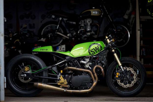 Sultans Of Sprint drag racer by Schlachtwerk Motorcycles.