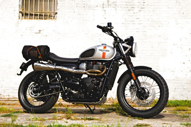 Custom Triumph Street twin by Standard Motorcyle Co