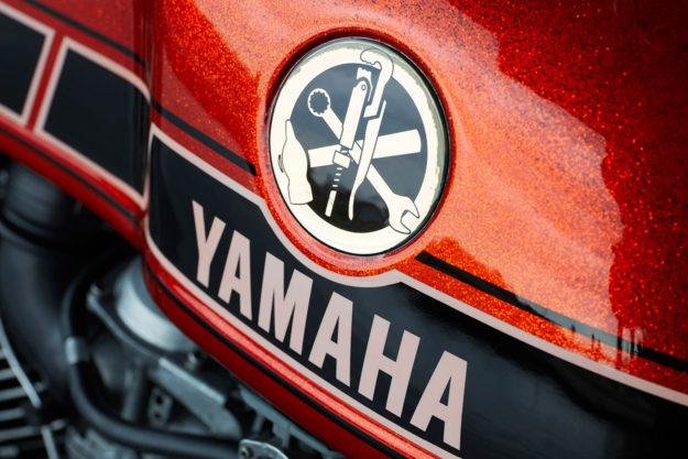 Tangerine Dream: Roland Snel's Yamaha TR1 cafe racer