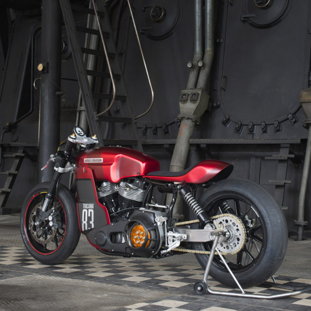 Crazy Garage Harley Cafe Racer
