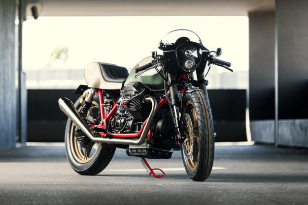 The Moto Guzzi Mille GT like you've never seen it before—customised by Redonda Motors of Portugal.