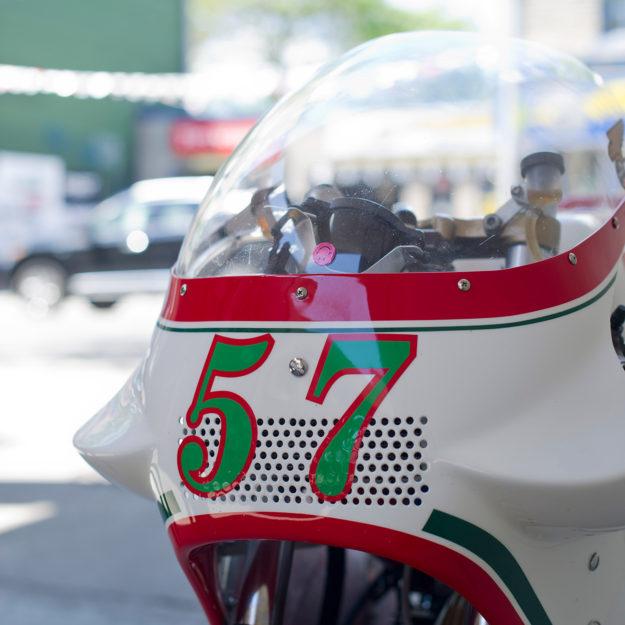 1980s Overload: Paul Hewitt's Moretti vintage race bike