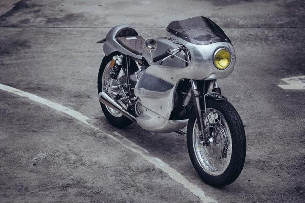 Yamaha SR400 by Omega Racer