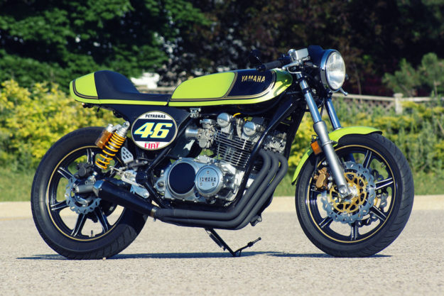 Yamaha XS750 by Al Baljeu