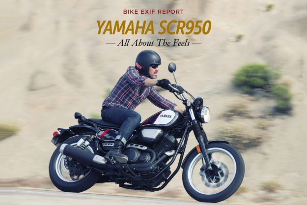 Review: The 2017 Yamaha SCR950 scrambler motorcycle.