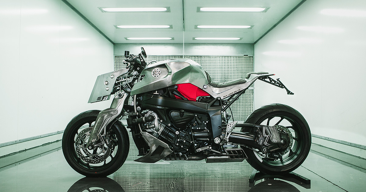 Special K: Pan Speed Shop launches with a wild BMW K1200S