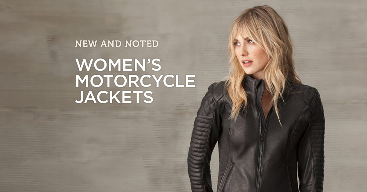 New & Noted: Women's Motorcycle Jackets