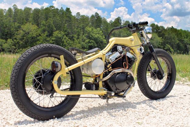 Yamaha Virago 250 bobber by Matt Fuller