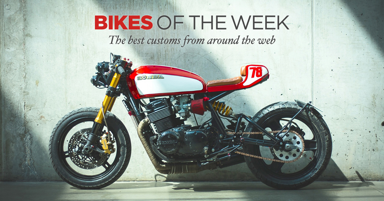 Custom Bikes Of The Week: 18 September, 2016
