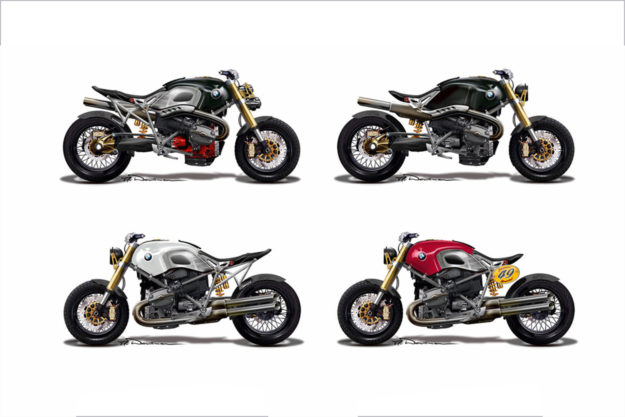 Early BMW Lo Rider concepts
