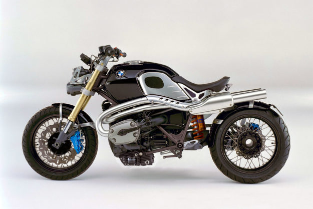 The 2009 BMW Lo Rider concept, forerunner to the R nineT.