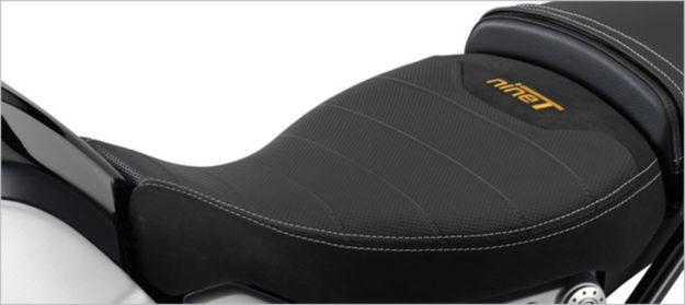 BMW R nineT accessory seat