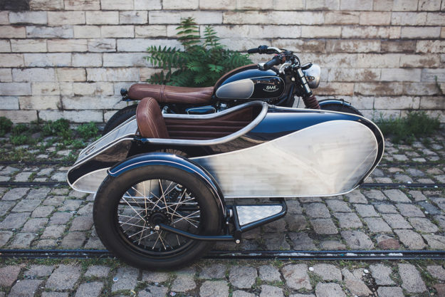 Better to travel than arrive: A Triumph Bonneville sidecar from BAAK Motocyclettes
