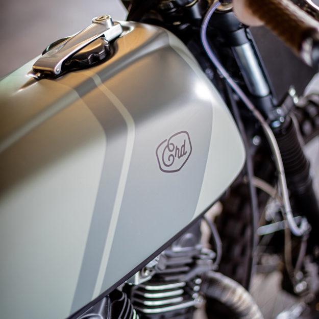Custom Honda Transalp by Cafe Racer Dreams