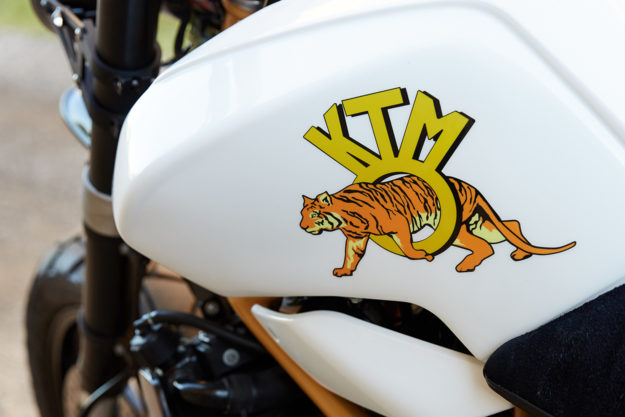 Rear of the Year: Federal's KTM 690 'Daisy Duke'