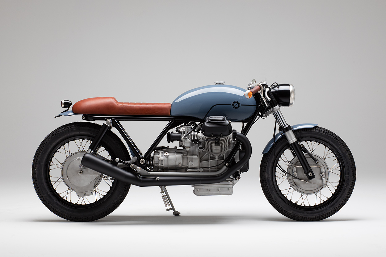 fatherly love this guzzi custom will be a family heirloom bike exif. Black Bedroom Furniture Sets. Home Design Ideas