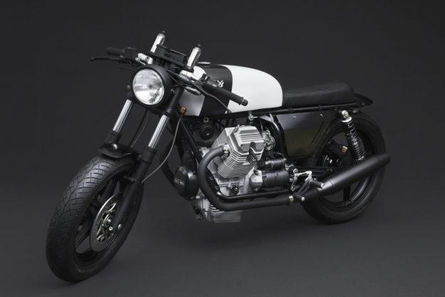 Corsaiola: A Heavily modified Moto Guzzi V75 cafe racer by Venier Customs