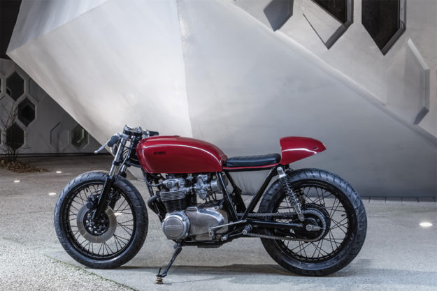 Honda CB550 by Bad Winners