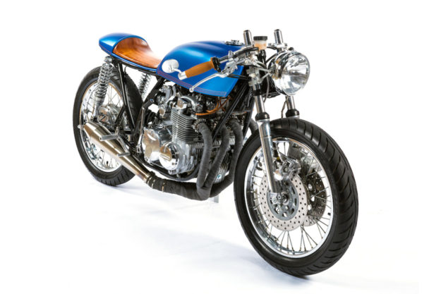 Honda CB550 by MONNOM Customs