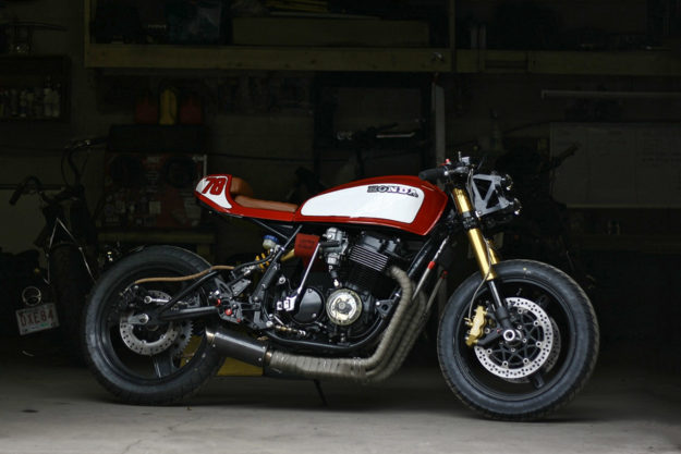 Honda CB750 by Andrew Wales