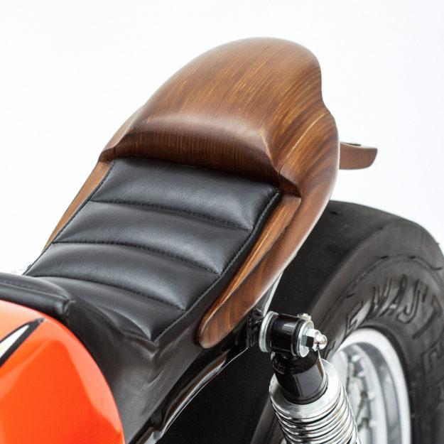 Woodface: George Woodman's Honda SS50 custom moped