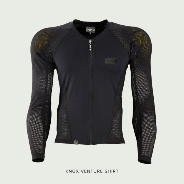 Knox Venture armoured motorcycle shirt