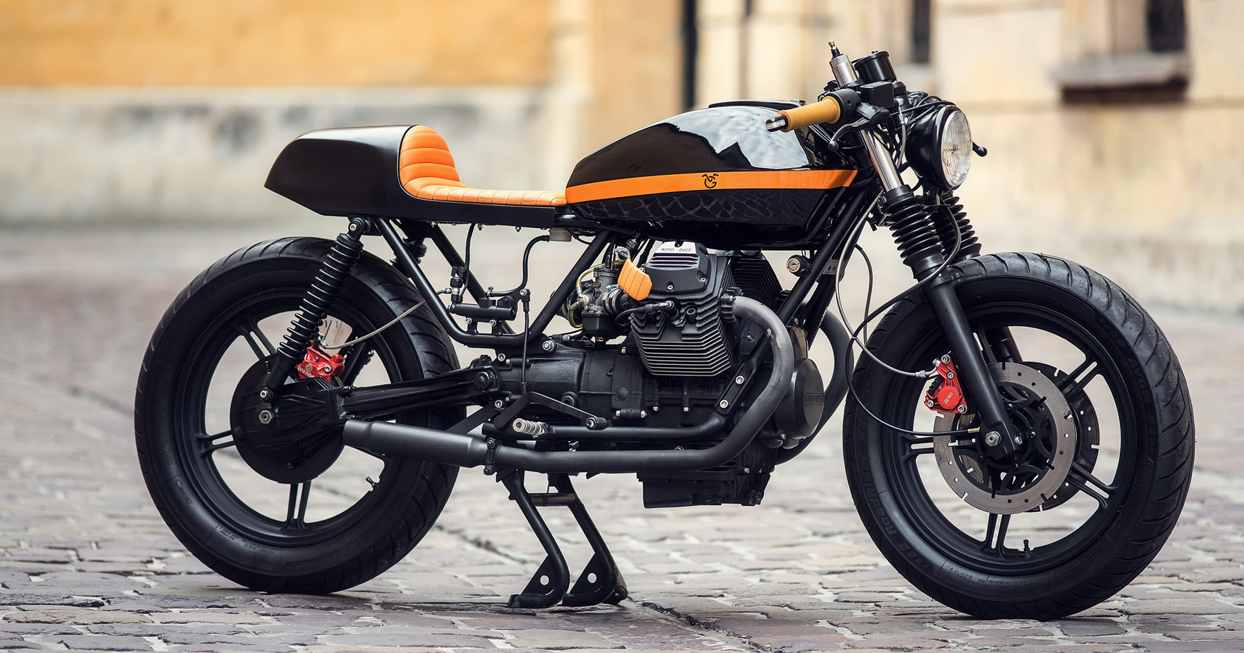 Black magic: Ventus Garage's Moto Guzzi V65