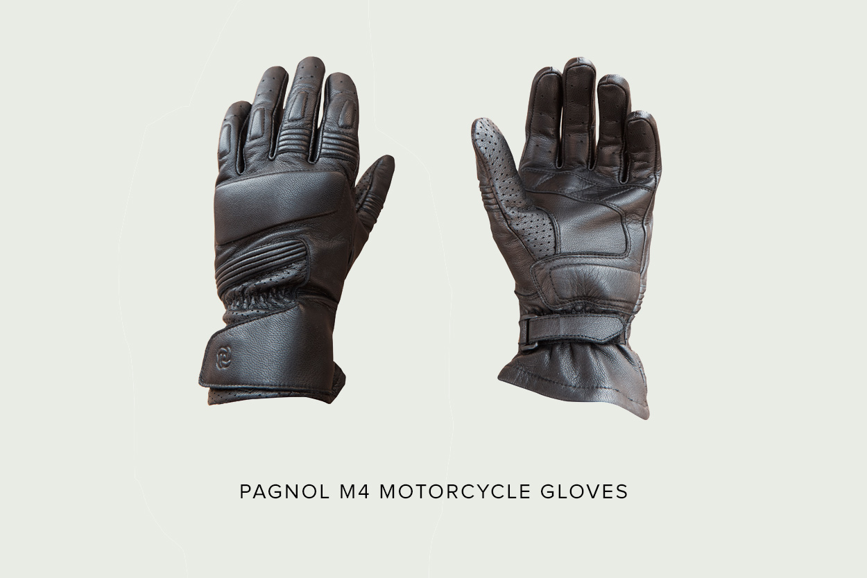 Motorcycle gloves d30 - Pagnol M4 Gloves When Leather Jacket Specialists Pagnol Launched Their M3 Leather Pants We Knew They D Eventually Complete Their Range With A Pair Of