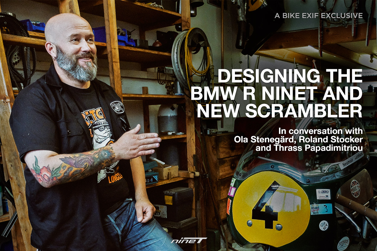 Behind the scenes: An exclusive insight into how the BMW R nineT and Scrambler were designed.