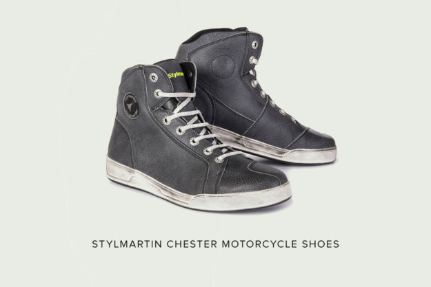 Stylmartin Chester waterproof motorcycle shoes