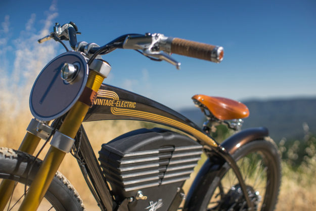 When the pavement runs out: Vintage Electric's scrambler