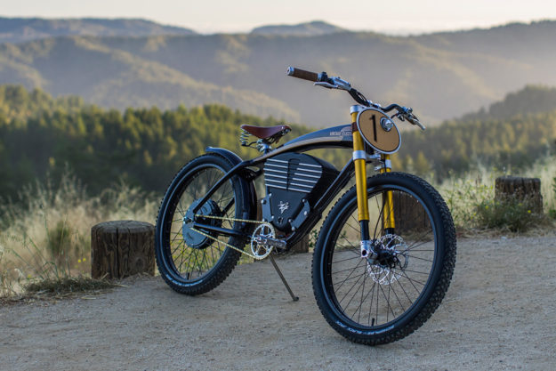 When the pavement runs out vintage electric s scrambler for Motorized bicycle california law