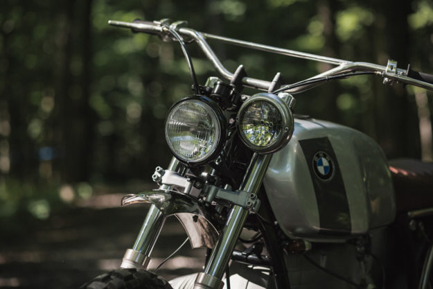 Clockwork Motorcycles and Crowe Metal Co. build a cross-country BMW R100.