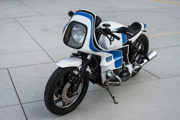 Luka Cimolini's BMW R100 'Reise Custom'