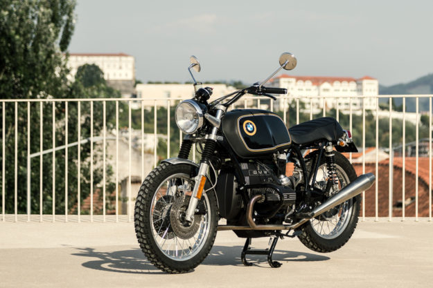 A BMW R65 restomod inspired by the Alpina 2002Ti