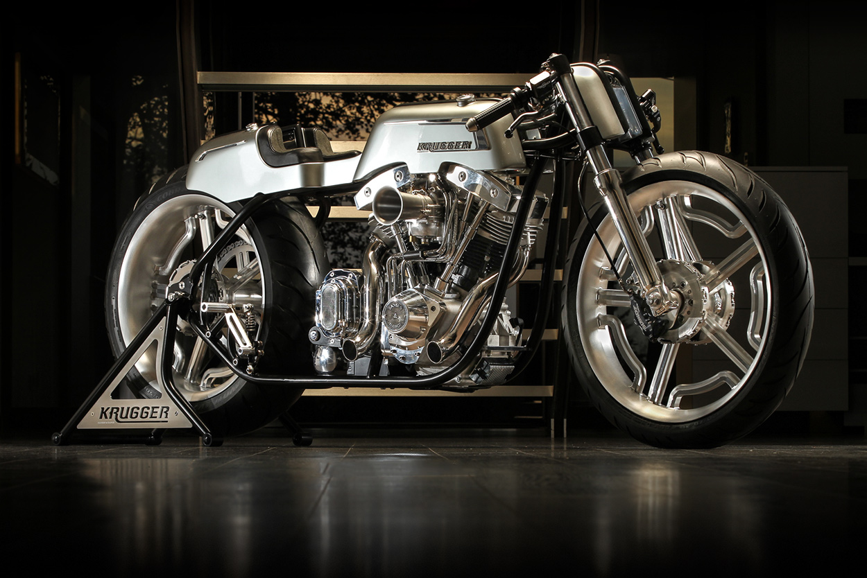 Fred Krugger's extraordinary S&S-powered entry for the 2016 AMD World Championship of Custom Bike Building.