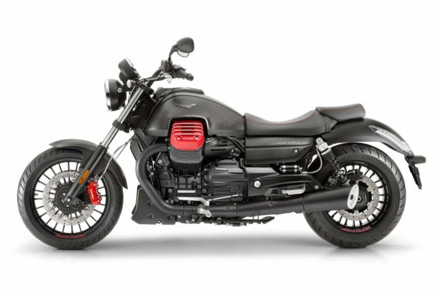 The new Moto Guzzi Audace Carbon