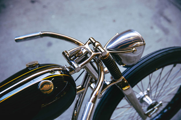 Streamline Moderne: An astonishing coachbuilt BSA by Max Hazan.