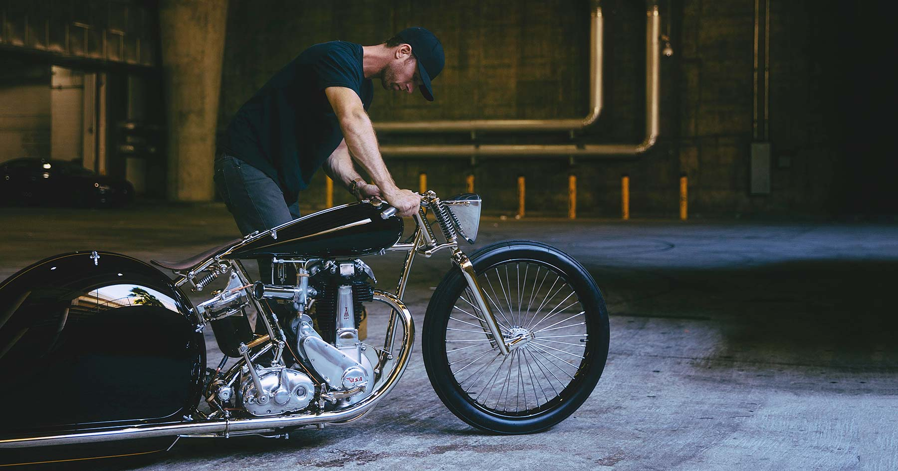 Streamline Moderne: Max Hazan's astonishing BSA 500