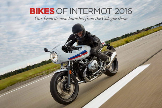 The best new retro-themed bikes from the 2016 Intermot motorcycle show.